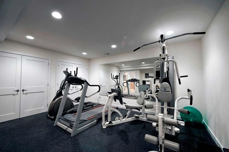 mancave inspiratie moderne luxe gym