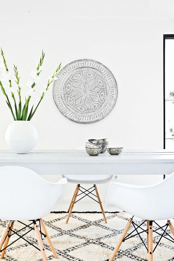 Marokkaans dienblad als decoratie
