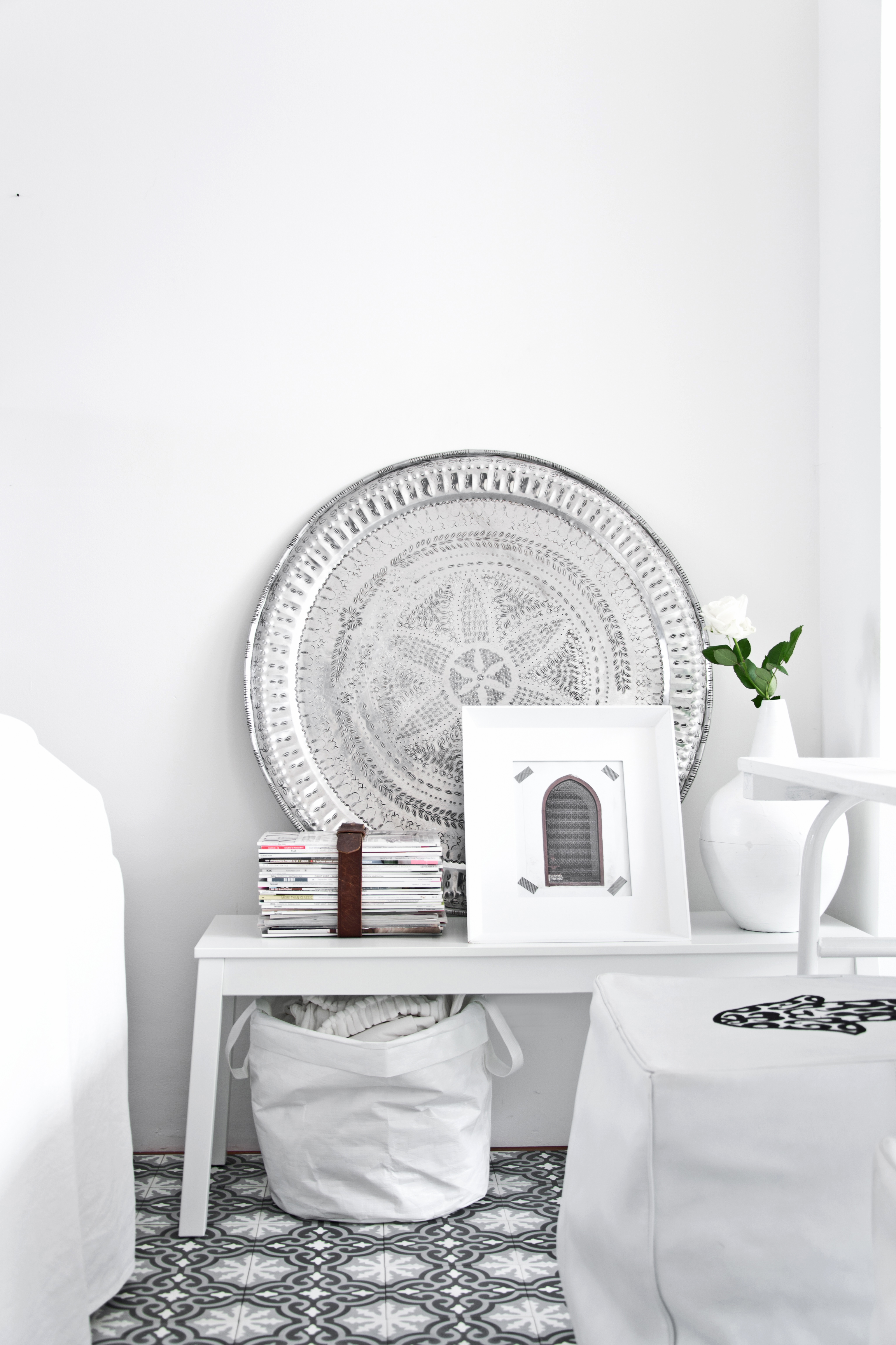 Marokkaanse dienbladen in huis interieur inrichting for Decoratie woning