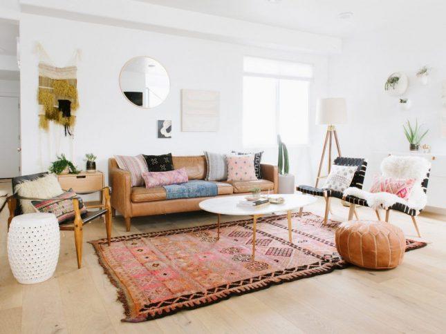 marokkaans interieur vloerkleed