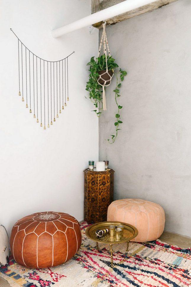 marokkaans zithoekje