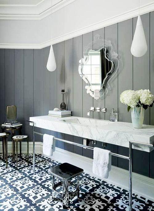 Marokkaanse badkamer tegels interieur inrichting for Bathroom ideas 1920s home