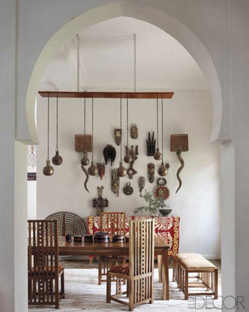 Marokkaanse interieur van Maryam en Chris