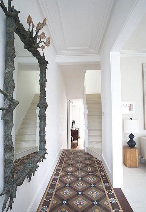 Marokkaanse tegels in hal interieur inrichting for Interieur ideeen hal