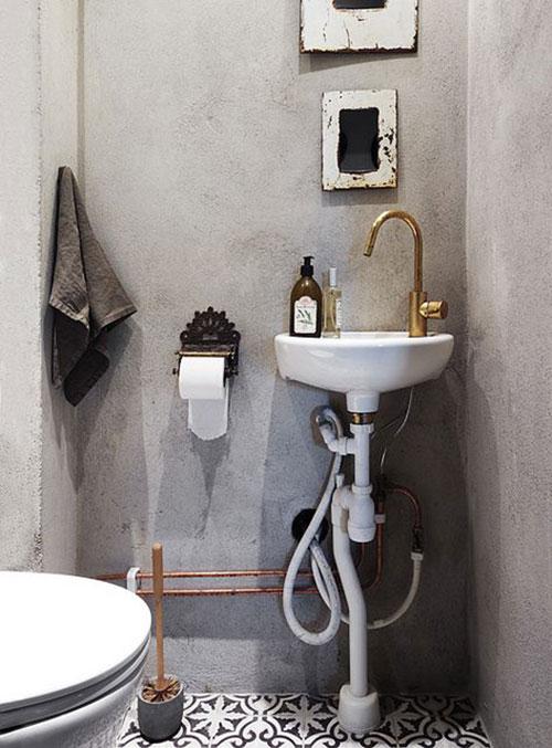 Marokkaanse tegels in toilet  Interieur inrichting