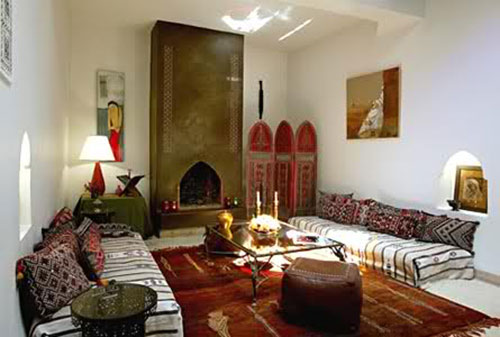 Marokkaanse Woonkamer Inrichten : Marokkaanse woonkamer inrichten interieur inrichting