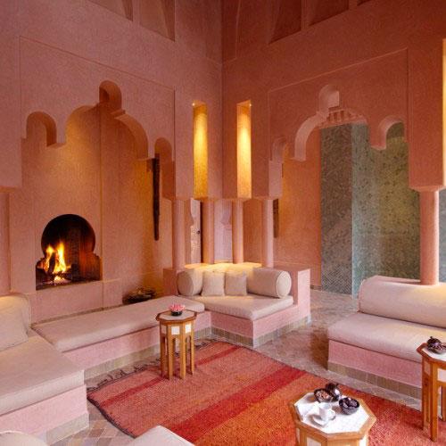 Marokkaanse woonkamer inrichten interieur inrichting - Decoratie volwassen kamer zen ...