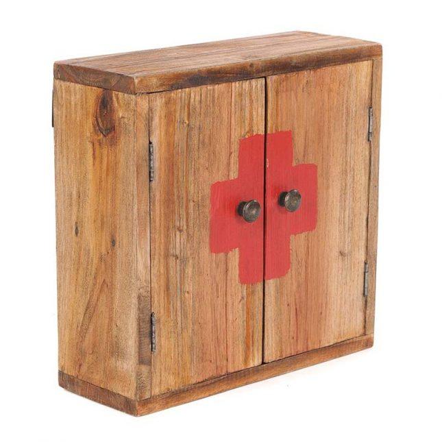 Medicijnkastje hout