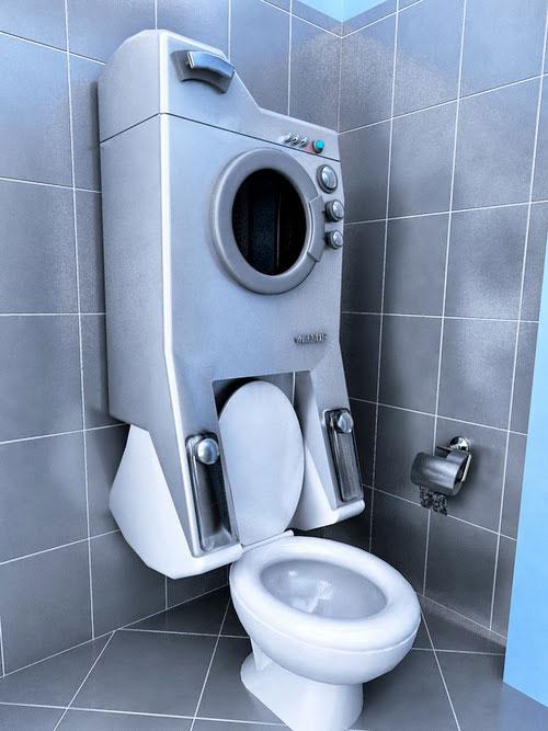 Milieuvriendelijk idee voor kleine badkamer | Interieur inrichting
