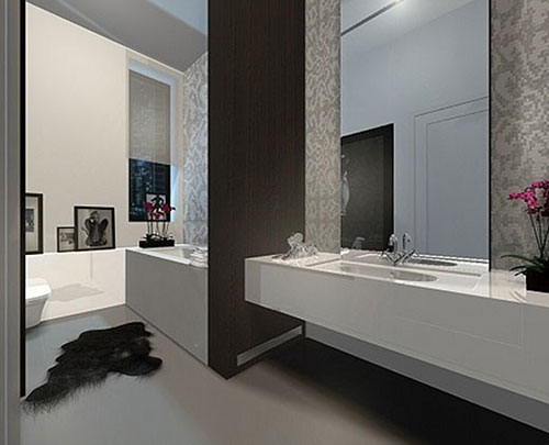 Minimalistische badkamer ontwerpen