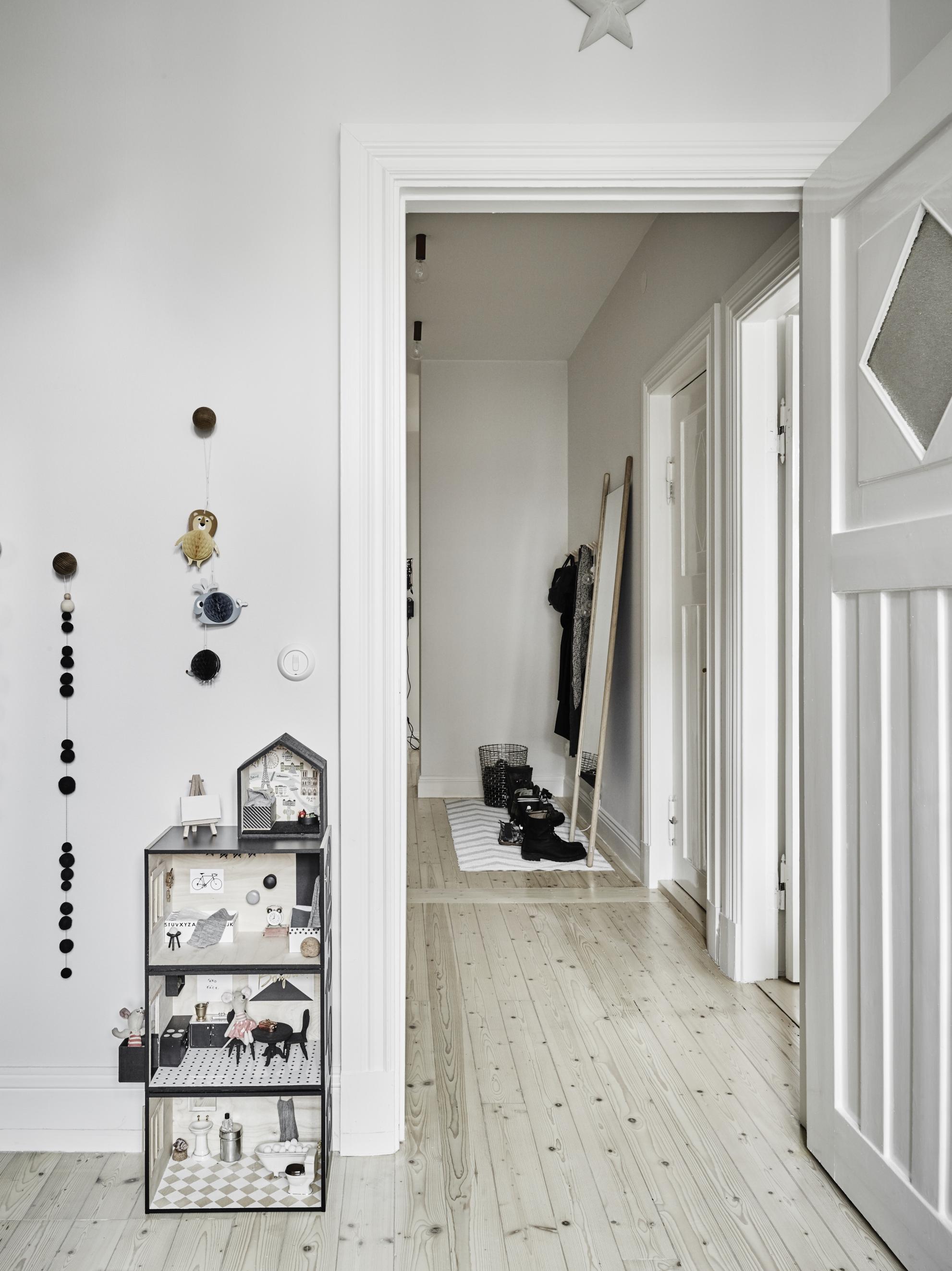Minimalistische hal inspiratie interieur inrichting - Colores de pinturas para salones ...