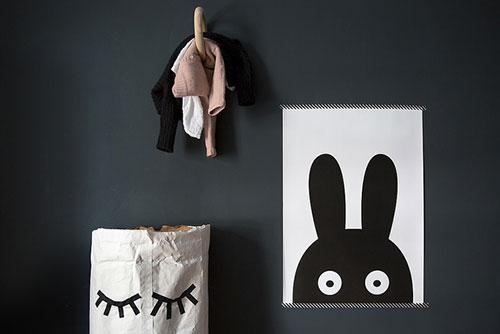 Babykamer Donkere Muur : Minimalistische babykamer van Tallis ...