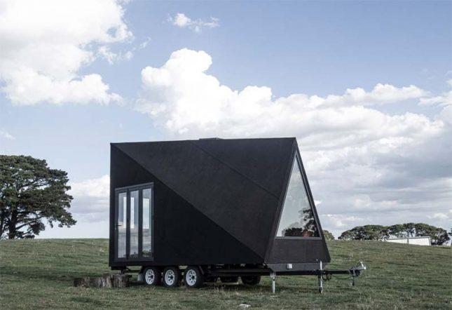 mobiel houten huis