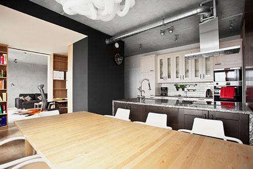 Modern appartement voor de man