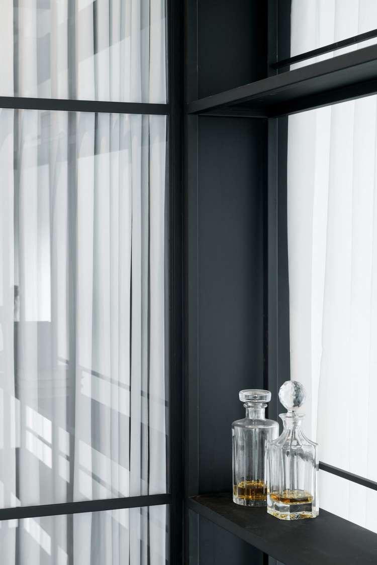 Modern chic appartement met een industrieel tintje