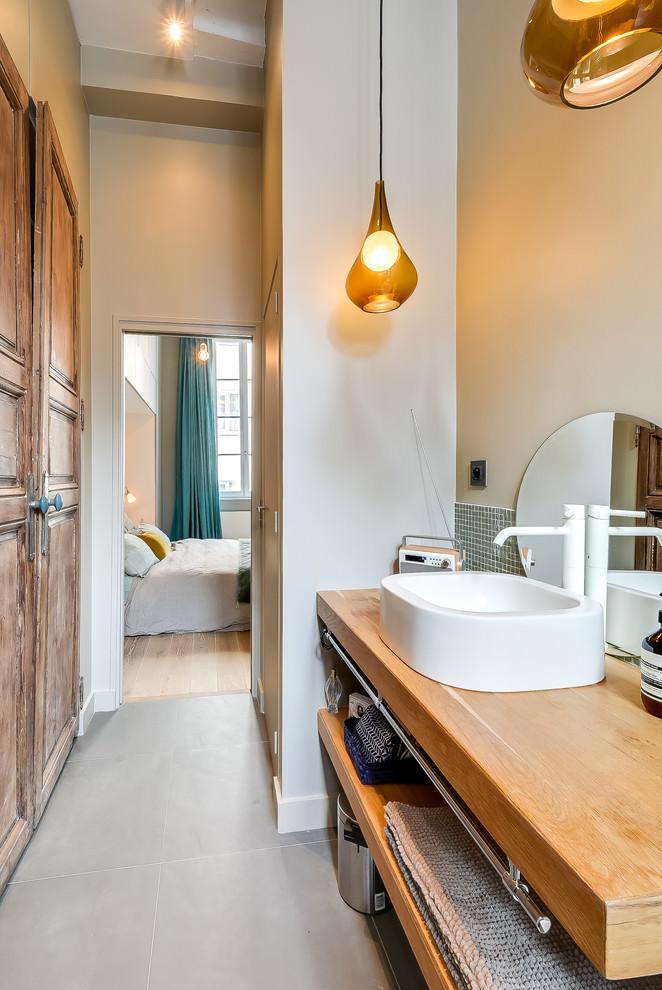 Modern klein appartement in Parijs