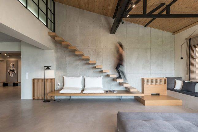 Modern landelijk appartement met een industrieel tintje