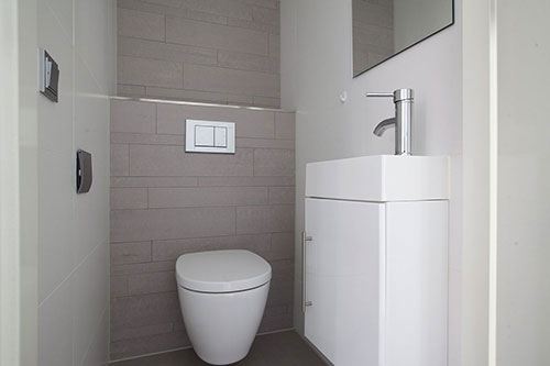 Toilet Interieur Ideeen : Modern toilet interieur inrichting