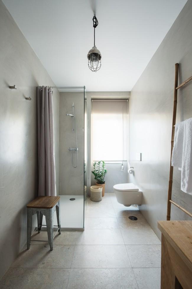 Moderne Badkamer Met Houten Accenten Interieur Inrichting