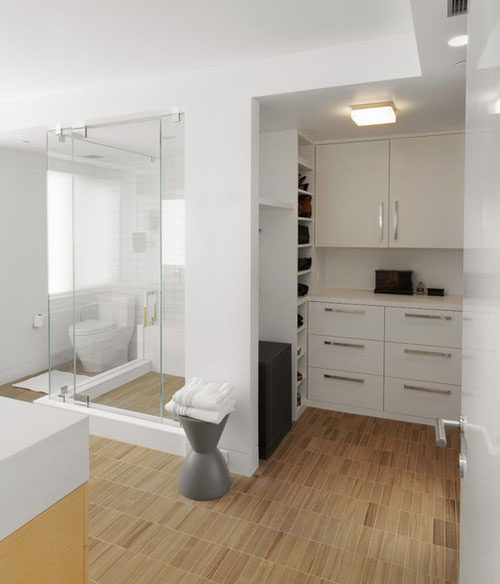 Moderne badkamer ideeen
