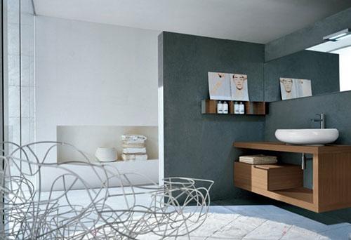 10 moderne badkamers interieur inrichting - Moderne badkamer tegelvloeren ...
