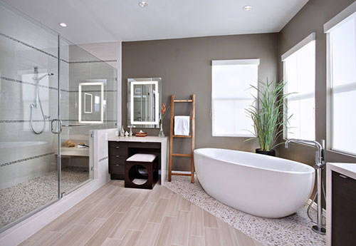 Moderne badkamer idee n interieur inrichting - Interieurdesign ideeen ...