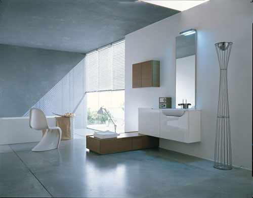 Modern Badkamer Interieur : Moderne badkamers interieur inrichting