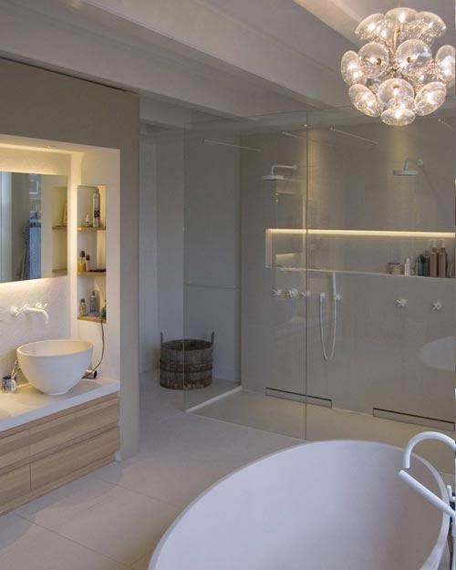 Simpele badkamer ideeen 45 badkamer voorbeelden klein behuisd 1 binnenkijken in - Badkamer inrichting ...