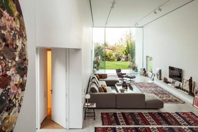 Moderne bohemien woonkamer