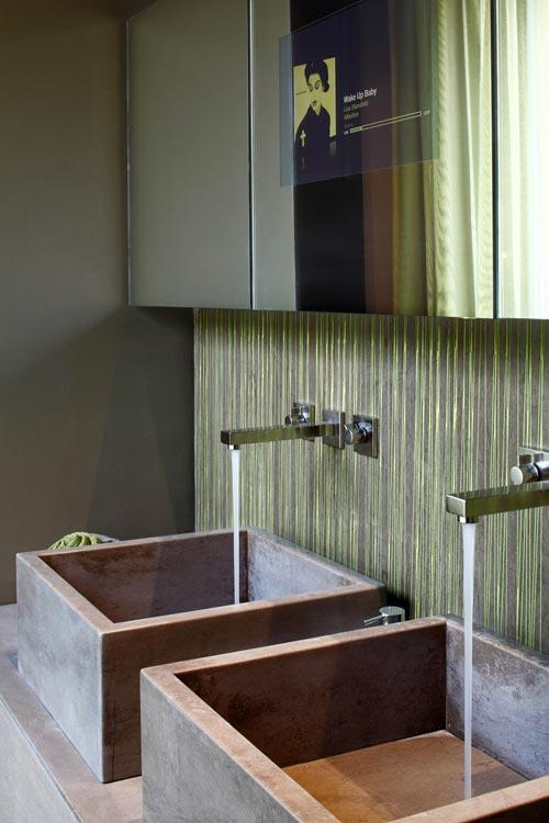moderne futoristische badkamer | interieur inrichting, Deco ideeën