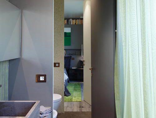 Moderne futoristische badkamer