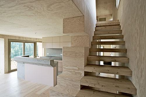 houten trap interieur inrichting