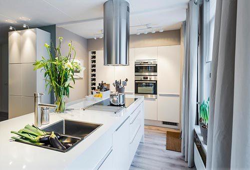 Moderne IKEA keuken make over
