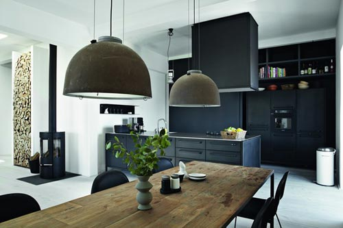 Moderne industri le keuken interieur inrichting for Industriele inrichting