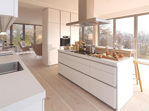 Witte Keuken Lichte Vloer : White Kitchen Design Ideas