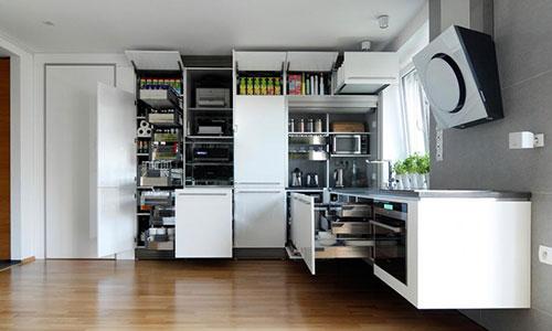 Compacte Design Keuken : Moderne keuken met led verlichting Interieur inrichting