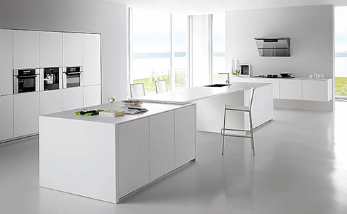 Ultra Moderne Keukens : Grote moderne keuken u artsmedia