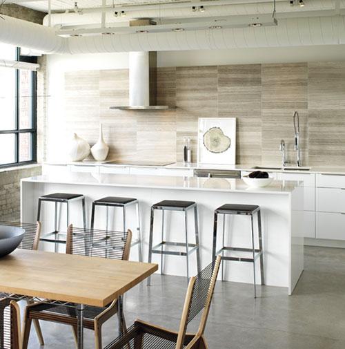 Keuken Kleur Taupe : Industrial Kitchen Backsplash