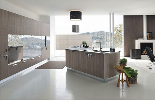 10 moderne keukens interieur inrichting for Modern german kitchen designs