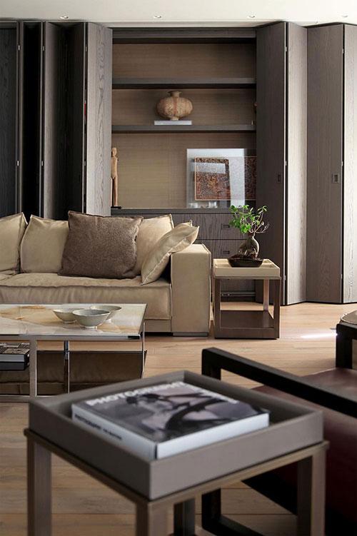 Moderne koloniale woonkamer interieur inrichting - Interieur inrichting moderne woonkamer ...