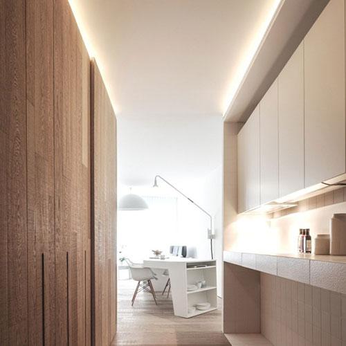 Moderne opbergbare keuken