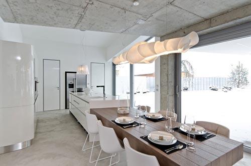 Moderne open keuken door oooox architecten interieur inrichting - Keukentafel corian ...
