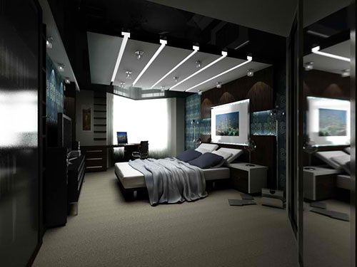 Inrichting Grote Slaapkamer : Moderne slaapkamer ontwerpen interieur inrichting