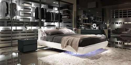 moderne slaapkamer ontwerpen  interieur inrichting, Meubels Ideeën