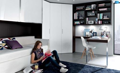 Tienerkamer inrichten interieur inrichting - Idee deco slaapkamer tiener jongen ...