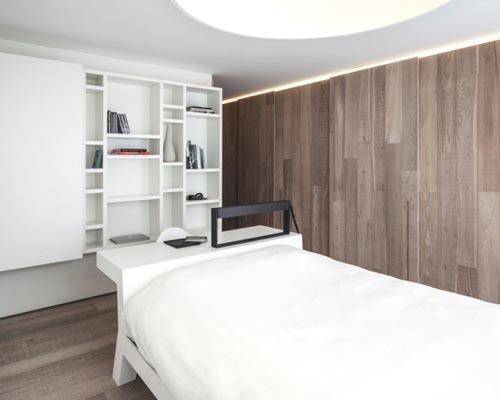 Slaapkamer Met Kledingkast : Moderne vaste kasten in slaapkamer interieur inrichting