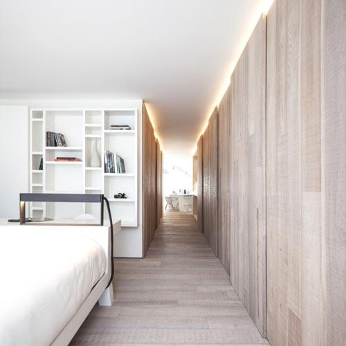 moderne vaste kasten in slaapkamer