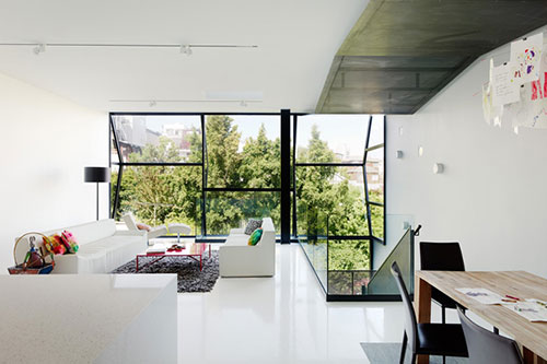 Moderne woning interieur van flip house interieur inrichting - Designer huis exterieur ...