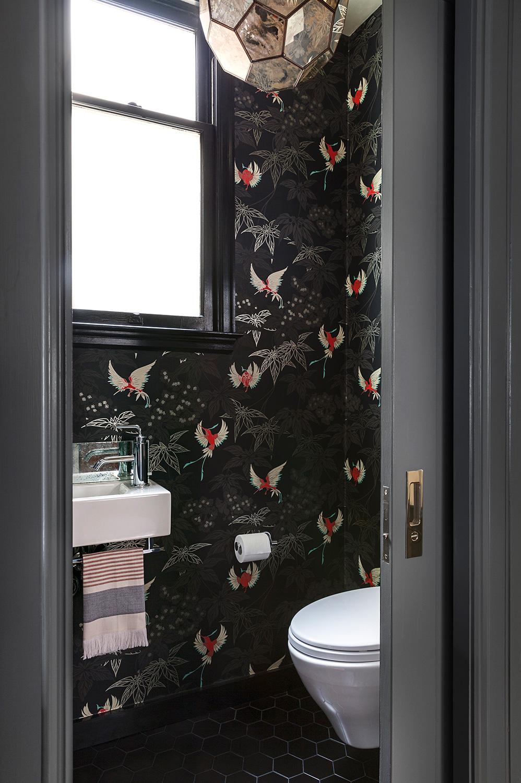 Interieur Ideeen Wc.Mooi Behang Voor Een Luxe Toilet Interieur Inrichting