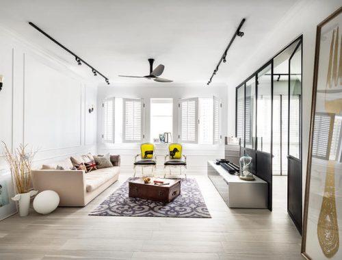 Smalle woonkamer ideeen tips voor het inrichten van een for Interieur inrichting ideeen